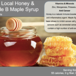 Honey & Maple Syrup Food Card