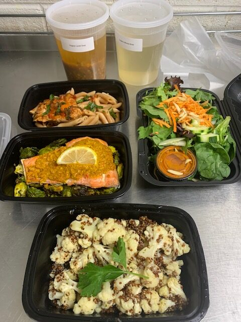 composite of weeks worth of meals